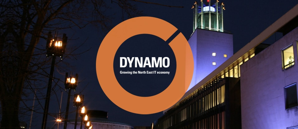 Dynamo North East Branding
