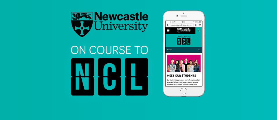 On course to NCL branding and website