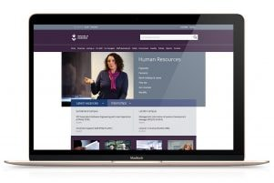 University of Sunderland website