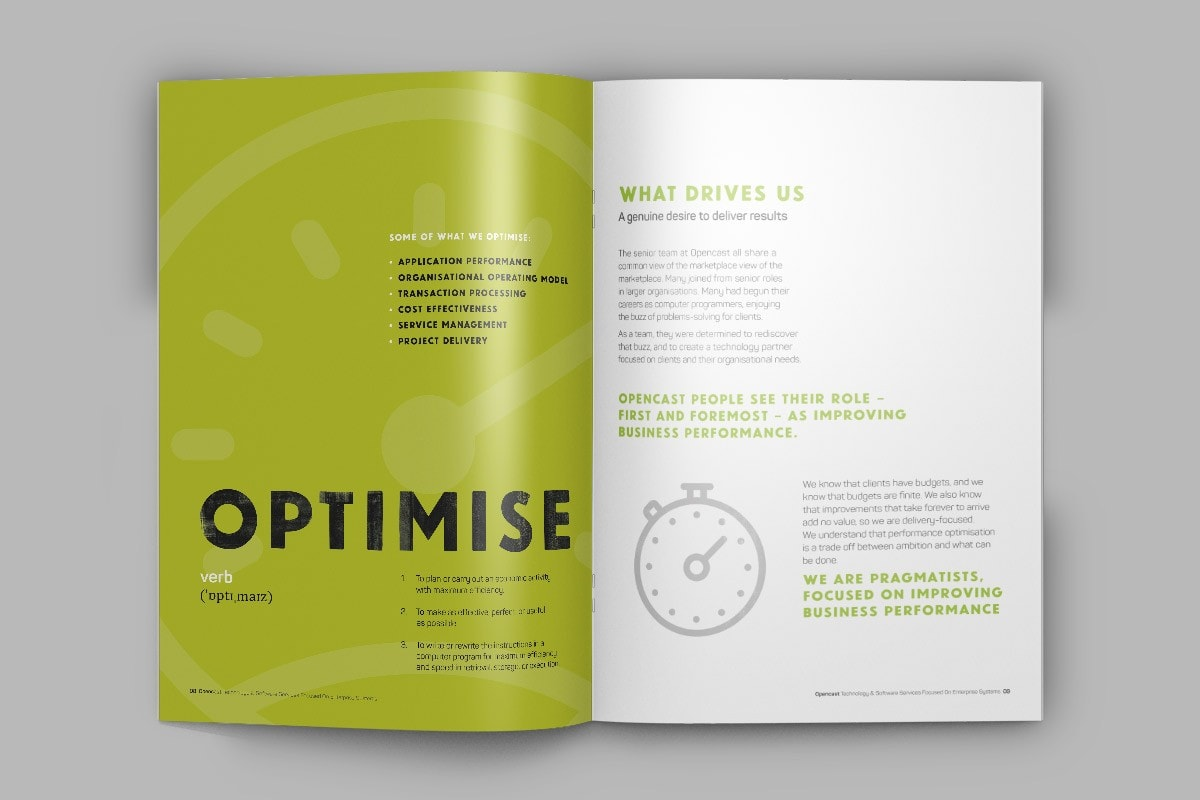 Opencast Software corporate brochure